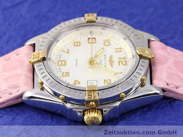Used luxury watch Breitling Wings gilt steel quartz Kal. ETA 956612 Ref. B67050  | 140020 05