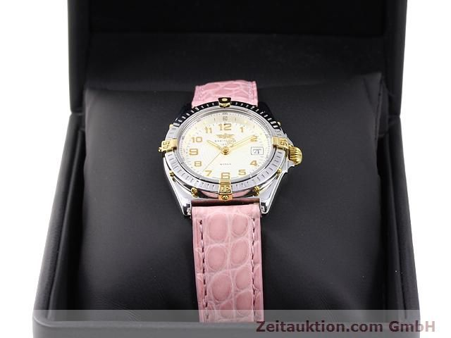 Used luxury watch Breitling Wings gilt steel quartz Kal. ETA 956612 Ref. B67050  | 140020 07