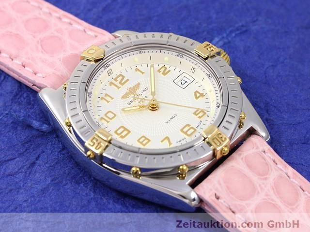 Used luxury watch Breitling Wings gilt steel quartz Kal. ETA 956612 Ref. B67050  | 140020 11