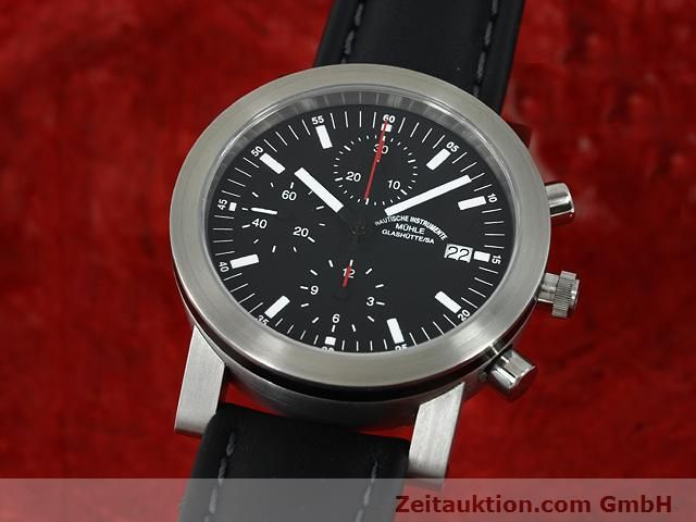 Used luxury watch Mühle Sport steel automatic Kal. ETA 7750 Ref. M12123  | 140022 04