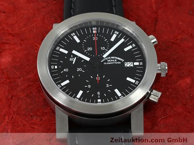 Used luxury watch Mühle Sport steel automatic Kal. ETA 7750 Ref. M12123  | 140022 12