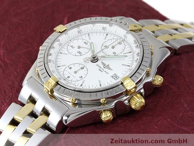Used luxury watch Breitling Chronomat gilt steel automatic Kal. ETA 7750 Ref. B13048  | 140024 01