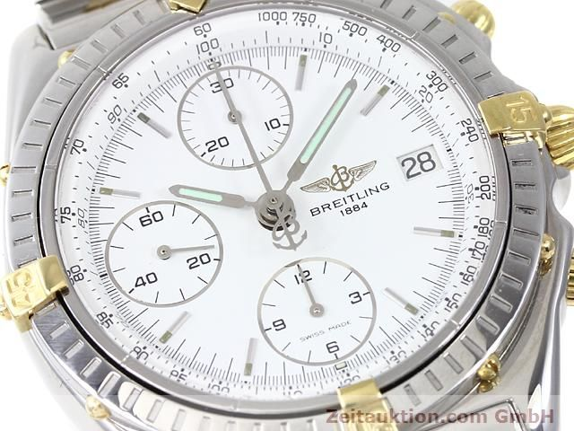 Used luxury watch Breitling Chronomat gilt steel automatic Kal. ETA 7750 Ref. B13048  | 140024 02
