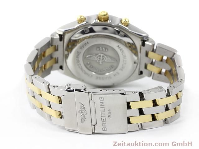 Used luxury watch Breitling Chronomat gilt steel automatic Kal. ETA 7750 Ref. B13048  | 140024 11