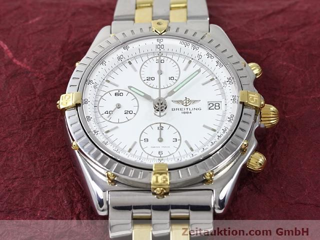 Used luxury watch Breitling Chronomat gilt steel automatic Kal. ETA 7750 Ref. B13048  | 140024 14