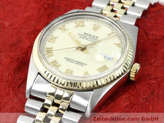 Used luxury watch Rolex Datejust steel / gold automatic Kal. 3035 Ref. 16013  | 140025 01