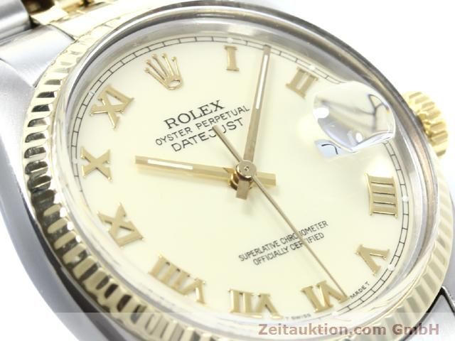 Used luxury watch Rolex Datejust steel / gold automatic Kal. 3035 Ref. 16013  | 140025 02