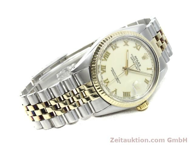 Used luxury watch Rolex Datejust steel / gold automatic Kal. 3035 Ref. 16013  | 140025 03