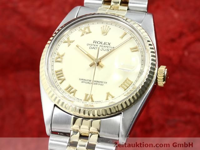 Used luxury watch Rolex Datejust steel / gold automatic Kal. 3035 Ref. 16013  | 140025 04