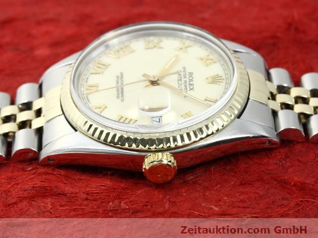 Used luxury watch Rolex Datejust steel / gold automatic Kal. 3035 Ref. 16013  | 140025 05