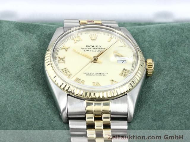 Used luxury watch Rolex Datejust steel / gold automatic Kal. 3035 Ref. 16013  | 140025 07