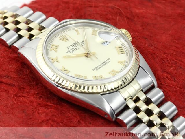 Used luxury watch Rolex Datejust steel / gold automatic Kal. 3035 Ref. 16013  | 140025 14