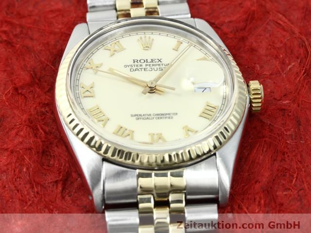 Used luxury watch Rolex Datejust steel / gold automatic Kal. 3035 Ref. 16013  | 140025 15