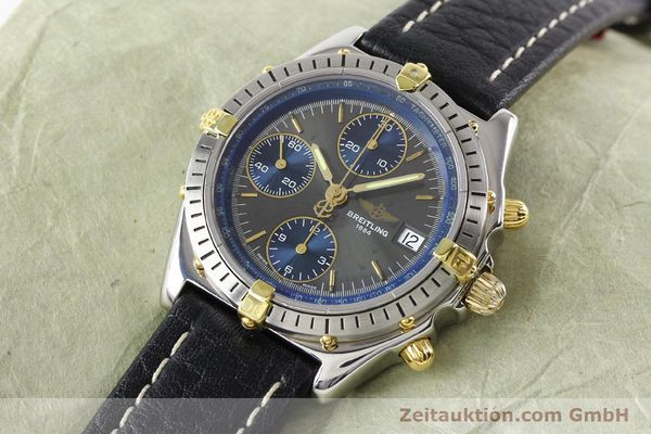 Used luxury watch Breitling Windrider gilt steel automatic Kal. VAL 7750 Ref. B130501  | 140027 01