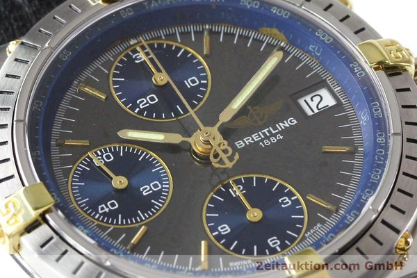 Used luxury watch Breitling Windrider gilt steel automatic Kal. VAL 7750 Ref. B130501  | 140027 02