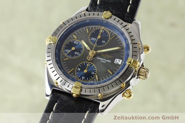 Used luxury watch Breitling Windrider gilt steel automatic Kal. VAL 7750 Ref. B130501  | 140027 04