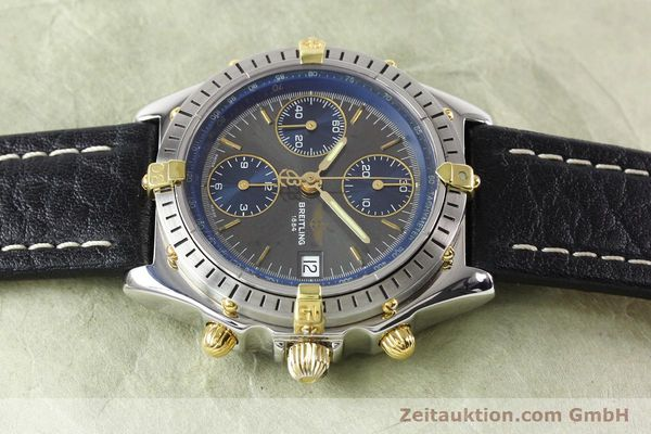 Used luxury watch Breitling Windrider gilt steel automatic Kal. VAL 7750 Ref. B130501  | 140027 05