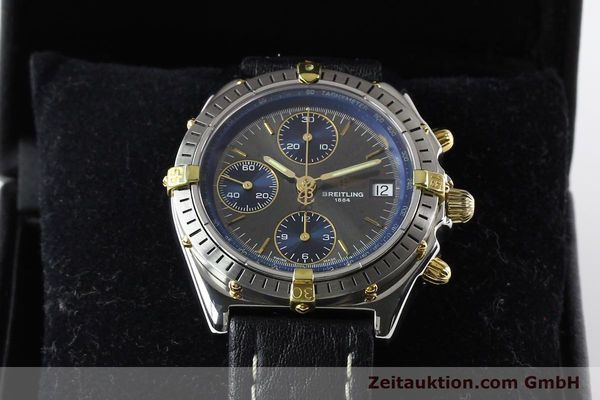Used luxury watch Breitling Windrider gilt steel automatic Kal. VAL 7750 Ref. B130501  | 140027 07