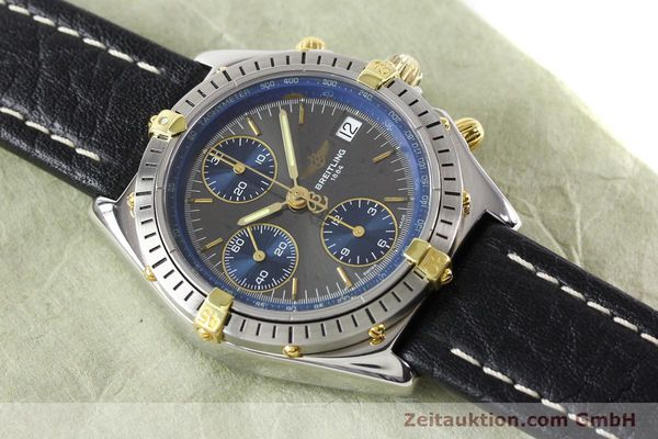 Used luxury watch Breitling Windrider gilt steel automatic Kal. VAL 7750 Ref. B130501  | 140027 13