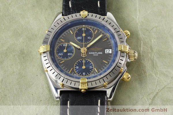 Used luxury watch Breitling Windrider gilt steel automatic Kal. VAL 7750 Ref. B130501  | 140027 14