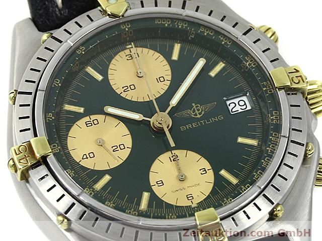 Used luxury watch Breitling Windrider gilt steel automatic Kal. VAL 7750 Ref. 81950  | 140028 02