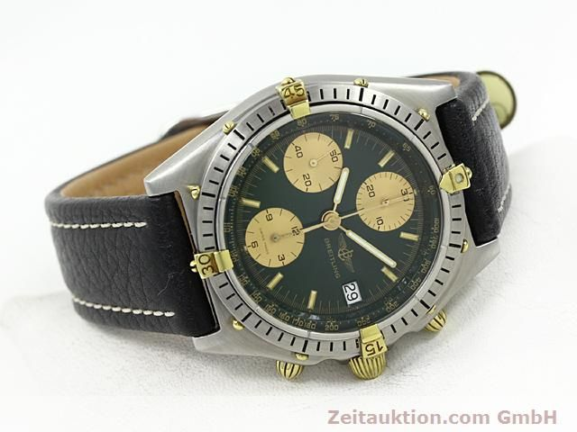 Used luxury watch Breitling Windrider gilt steel automatic Kal. VAL 7750 Ref. 81950  | 140028 03