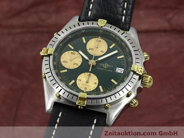 Used luxury watch Breitling Windrider gilt steel automatic Kal. VAL 7750 Ref. 81950  | 140028 04