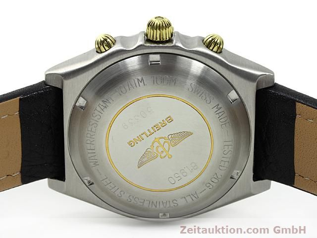 Used luxury watch Breitling Windrider gilt steel automatic Kal. VAL 7750 Ref. 81950  | 140028 09