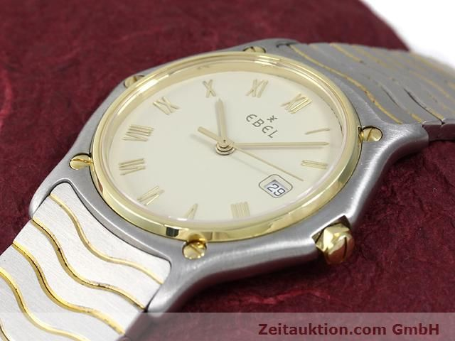 Used luxury watch Ebel Classic Wave steel / gold quartz Kal. 83 Ref. 183909  | 140030 01