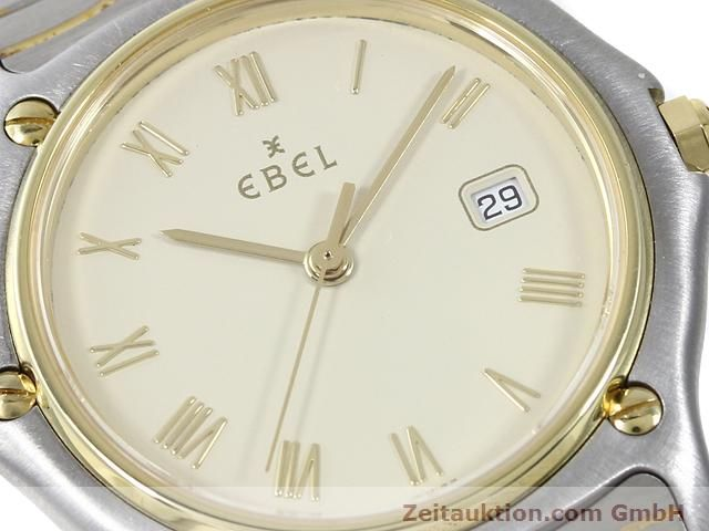 Used luxury watch Ebel Classic Wave steel / gold quartz Kal. 83 Ref. 183909  | 140030 02