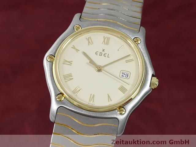 Used luxury watch Ebel Classic Wave steel / gold quartz Kal. 83 Ref. 183909  | 140030 04