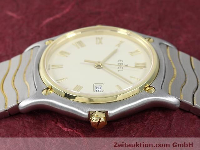 Used luxury watch Ebel Classic Wave steel / gold quartz Kal. 83 Ref. 183909  | 140030 05