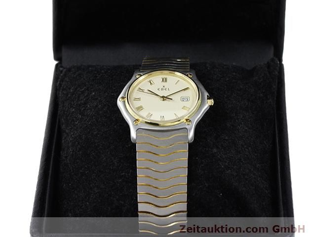 Used luxury watch Ebel Classic Wave steel / gold quartz Kal. 83 Ref. 183909  | 140030 07