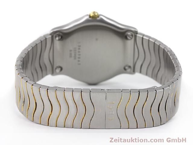 Used luxury watch Ebel Classic Wave steel / gold quartz Kal. 83 Ref. 183909  | 140030 10