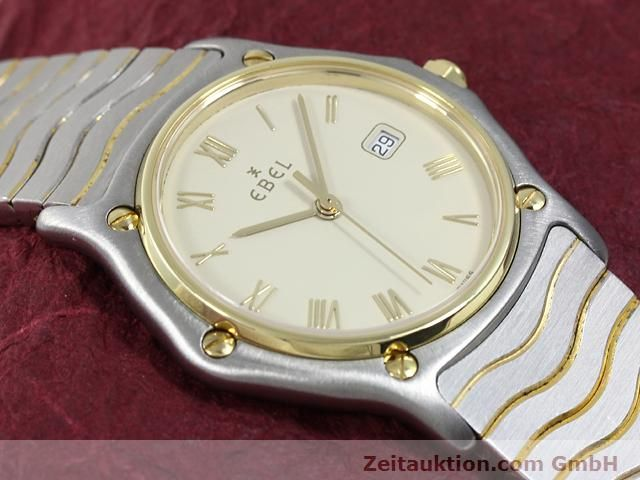 Used luxury watch Ebel Classic Wave steel / gold quartz Kal. 83 Ref. 183909  | 140030 12