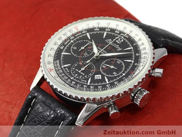Used luxury watch Breitling Montbrillant steel automatic Kal. ETA 2892A2 Ref. A41330  | 140032 01