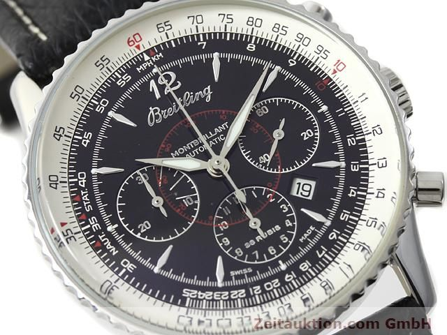 Used luxury watch Breitling Montbrillant steel automatic Kal. ETA 2892A2 Ref. A41330  | 140032 02