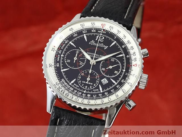 Used luxury watch Breitling Montbrillant steel automatic Kal. ETA 2892A2 Ref. A41330  | 140032 04
