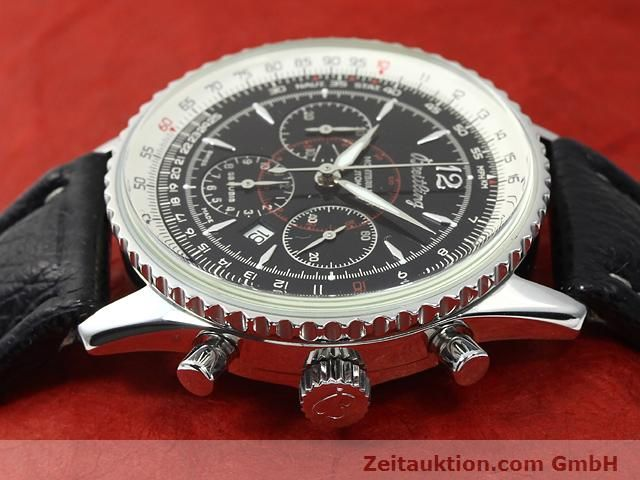 Used luxury watch Breitling Montbrillant steel automatic Kal. ETA 2892A2 Ref. A41330  | 140032 05