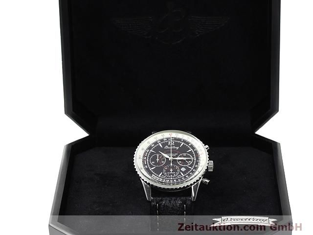 Used luxury watch Breitling Montbrillant steel automatic Kal. ETA 2892A2 Ref. A41330  | 140032 07