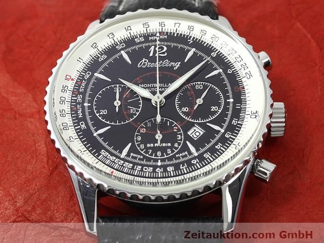 Used luxury watch Breitling Montbrillant steel automatic Kal. ETA 2892A2 Ref. A41330  | 140032 14