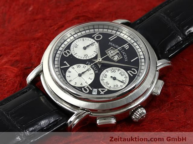 Used luxury watch Maurice Lacroix Masterpiece steel automatic Kal. ML 15 ETA 2892A2 Ref. AF 54272  | 140036 01