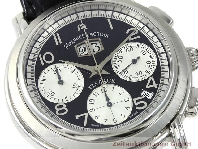 Used luxury watch Maurice Lacroix Masterpiece steel automatic Kal. ML 15 ETA 2892A2 Ref. AF 54272  | 140036 02