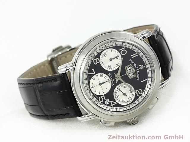 Used luxury watch Maurice Lacroix Masterpiece steel automatic Kal. ML 15 ETA 2892A2 Ref. AF 54272  | 140036 03