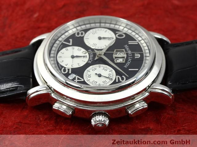 Used luxury watch Maurice Lacroix Masterpiece steel automatic Kal. ML 15 ETA 2892A2 Ref. AF 54272  | 140036 05