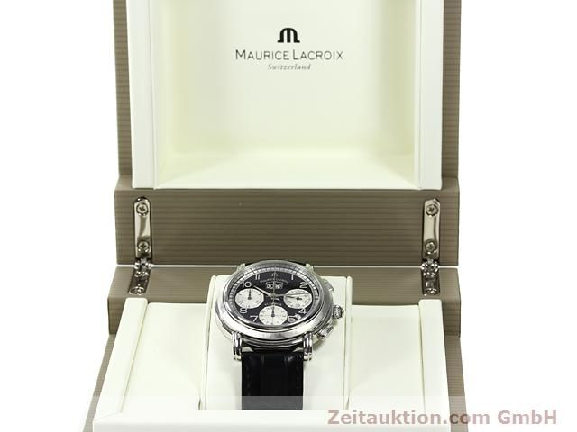 Used luxury watch Maurice Lacroix Masterpiece steel automatic Kal. ML 15 ETA 2892A2 Ref. AF 54272  | 140036 07