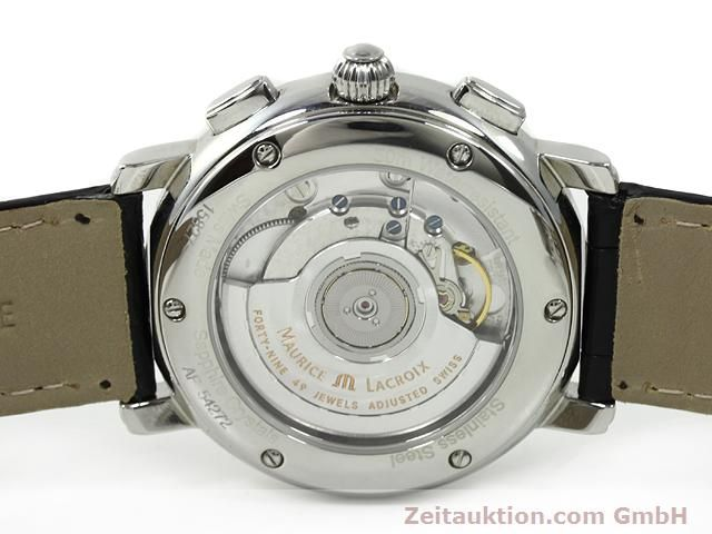 Used luxury watch Maurice Lacroix Masterpiece steel automatic Kal. ML 15 ETA 2892A2 Ref. AF 54272  | 140036 09