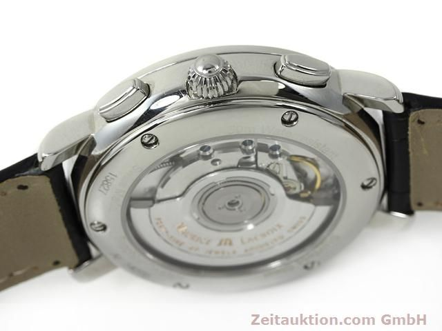 Used luxury watch Maurice Lacroix Masterpiece steel automatic Kal. ML 15 ETA 2892A2 Ref. AF 54272  | 140036 11