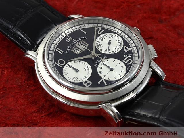 Used luxury watch Maurice Lacroix Masterpiece steel automatic Kal. ML 15 ETA 2892A2 Ref. AF 54272  | 140036 14