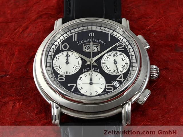 Used luxury watch Maurice Lacroix Masterpiece steel automatic Kal. ML 15 ETA 2892A2 Ref. AF 54272  | 140036 15